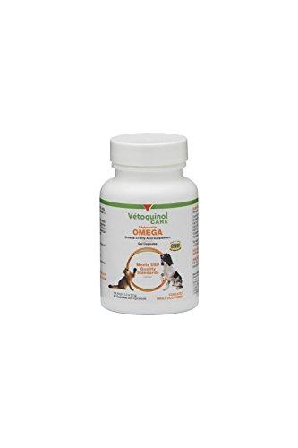 3 Capsules G Aller - Vetoquinol Triglyceride Tri-Omega Capsules Small Dog and Cat 60 capsules