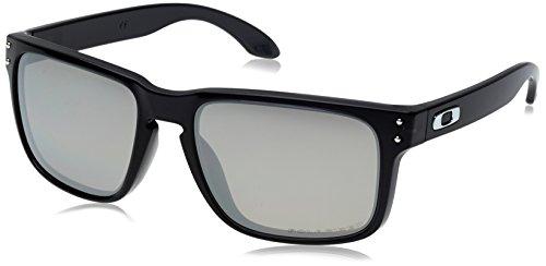 Oakley Sunglasses Holbrook Black Ink Collection Chrome Iridium Polarized OO9102-68 (Oakley Uv Sunglasses)