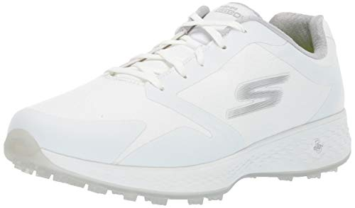 Skechers Women's Eagle Relaxed Fit Golf Shoe, White, 5.5 M US