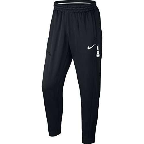 Mens Elite Pant - Nike Mens Therma Elite Tapered Sweatpants Black/Dark Grey 856473-010 Size Small
