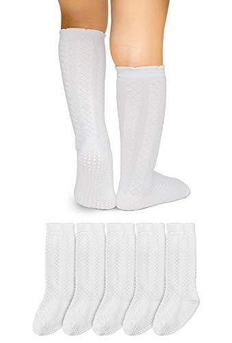 LA Active Baby Toddler Knee High Grip Socks - 5