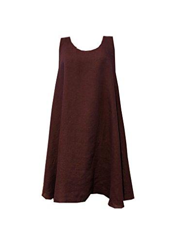 La Fée Maraboutée Damen Kleid Aubergine Robe SM Quetsche FB3325 X2QYyoCRAv