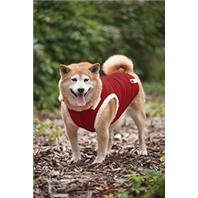 Fashion Pet Outdoor Dog Ribbed Polar Fleece Vest, Small, Red
