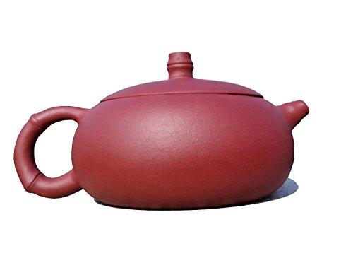 Yixing Teapot Mr Gu Sanyi Handmade Bamboo Beauty Tea Pot Nature Clay