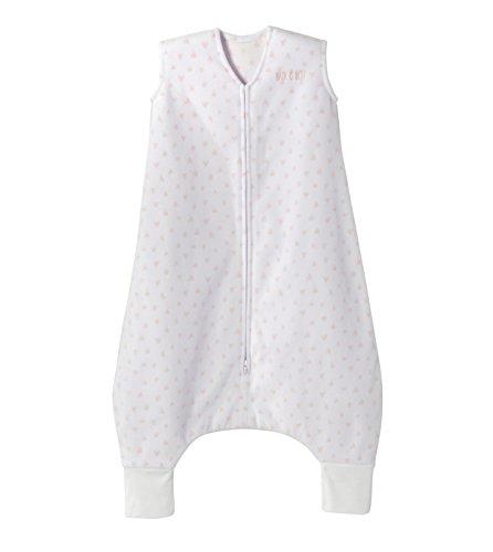 HALO Sleepsack Early Walker, Micro-Fleece, Mini Hearts Pink, Size Large (Mini Micro Hearts)