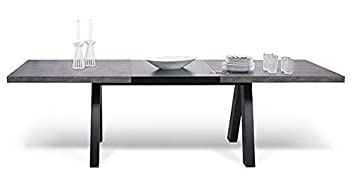 Genial APEX, Table De Salon Compacte Ou Extensible : Aspect Béton Ou Chêne Sauvage    APEX Table De Salon ...