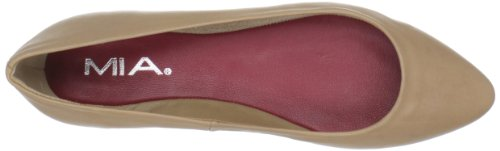 MIA Vena Natural Women's Flat Leather Ballet r6wr7zHTq