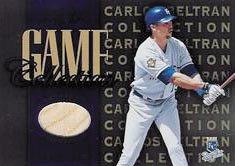2002 Leaf Game Collection #CBB Carlos Beltran Bat - (Carlos Beltran Bat)