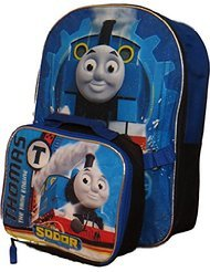 Price comparison product image Thomas the Tank Engine Backpack with Detachable Insulated Lunch Box