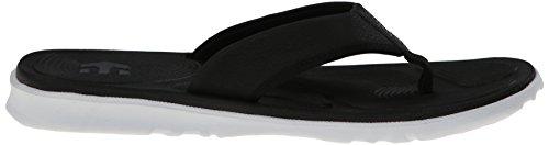 Etnies Herren Zehentrenner Sandalen Scout (4104000129) Farbe: Black/White, Black White, 39