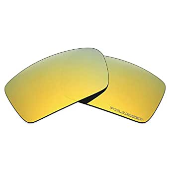 Mryok+ Polarized Replacement Lenses for Oakley Gascan - 24K Gold