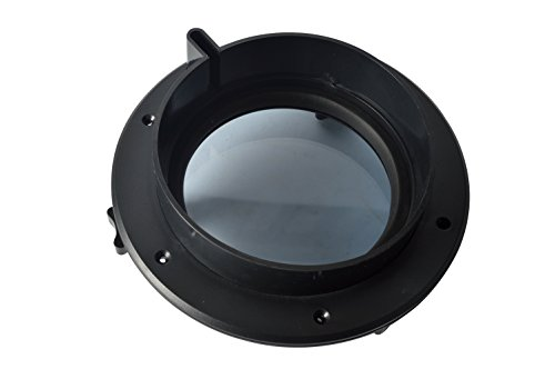 Amarine-made-Boat-Yacht-Round-Opening-Portlight-Porthole-8-Replacement-Window-Port-Hole-ABS-Clear-Tempered-Glass-Black