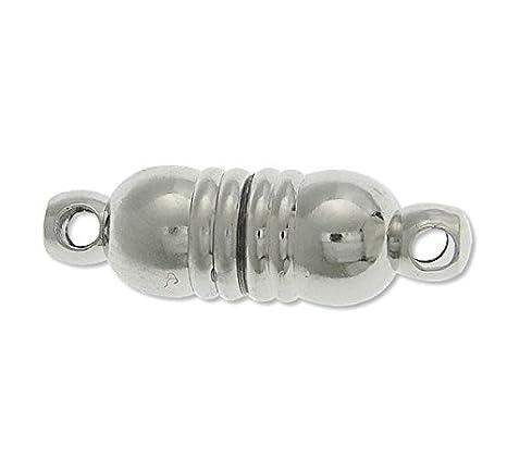 3 Magnetverschluss  Kettenverschluss VERBINDER 10mm Schmuckverschluss BEST M407