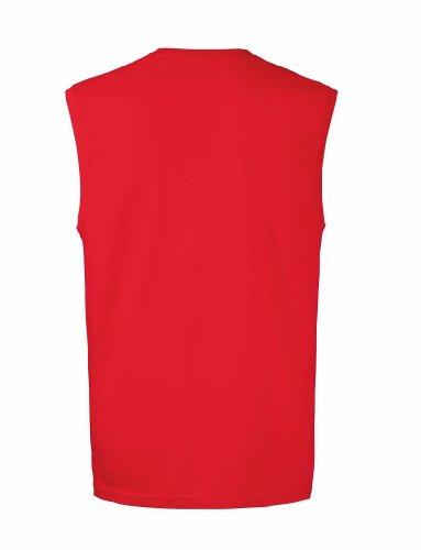 T-Shirt ohne Ärmel, Farbe:Red;Größe:XL XL,Red