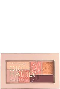 Maybelline New York Gigi Hadid Eyeshadow Palette, Warm, 0.14 Ounce