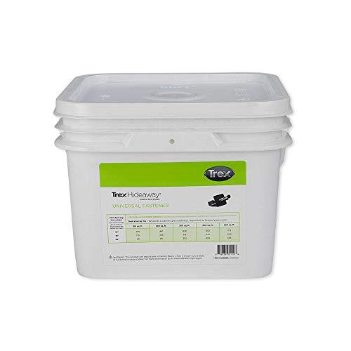 - Trex Hideaway Universal Hidden Deck Fastener Clip 500 SQFT Bucket