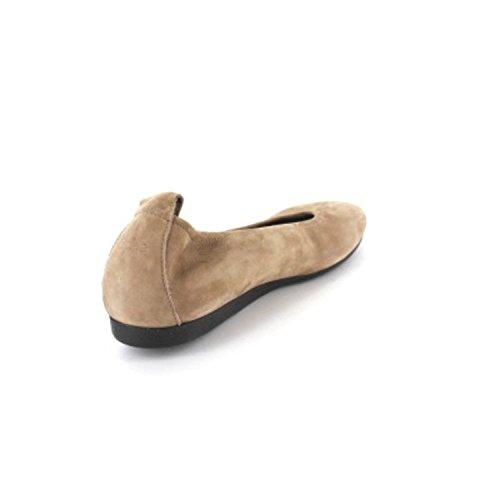 Arche Womens Laius Ballet Flat Sand