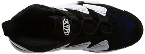 Nike Air Force 1 Hi Suprema Scarpe Da Basket Da Uomo Bianco / Metallico Argento-bianco