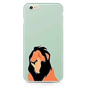Loud Universe Mufasah Lion King iphone 6 Case Classic Lion King iphone 6 Cover with 3d Wrap around Edges