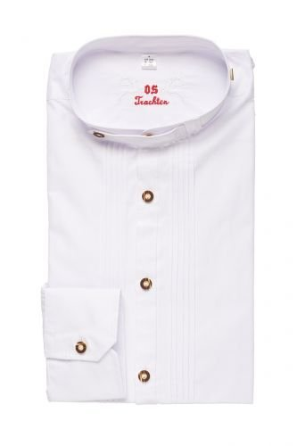Trachtenhemd weiß SLIMFIT 112449 Größe S (37/38)