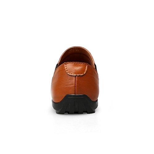 Zapatos Vestir Zapatos Zapatos de Trabajo M de de Zapatos Marea Brown Hombre de al Libre amp;M Aire Casuales Zapatos Zapatos 7nAqpxI