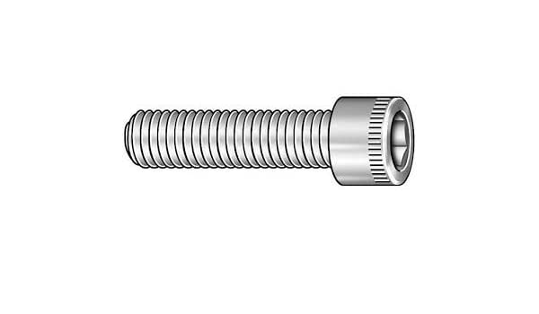 Qty 100 Black Oxide Stainless Steel Button Head Screw 10-32 x 1
