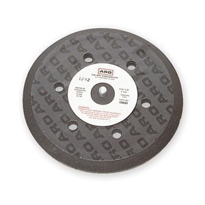 Air Cooled Disc Backup Pad, 6 In Dia, PSA by Ingersoll-Rand