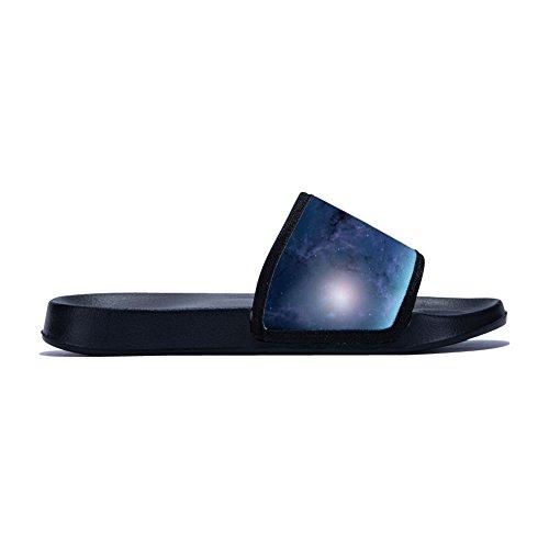Sky Breathable Nebula Slipper Drying for Non Starry Womens Slip Quick Pattern Family Summer Slippers 4qppX1x5w