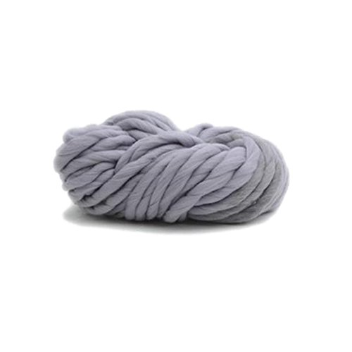 TRIEtree Crochet and Knitting Yarn Super Rough Thread Scarf Thread Hat Line Home Handmade Products (Smoky grey A21)