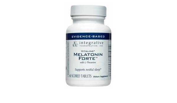 Amazon.com: Integrative Therapeutics - Melatonin Forte - 3 mg - 60 tablets: Health & Personal Care