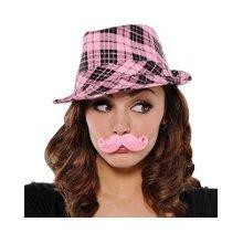 Pink Handlebar (Mini Handlebar Mustache Pink)