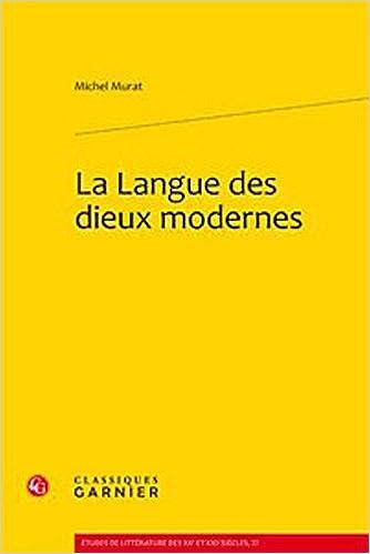 Livres La langue des dieux modernes epub pdf