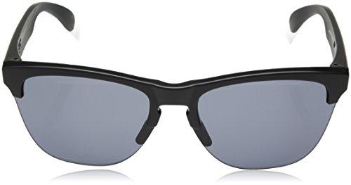 para Matte 63 Lite Negro 937401 Frogskins Sol Gafas Black de Oakley Grey Hombre 1qfCgwx