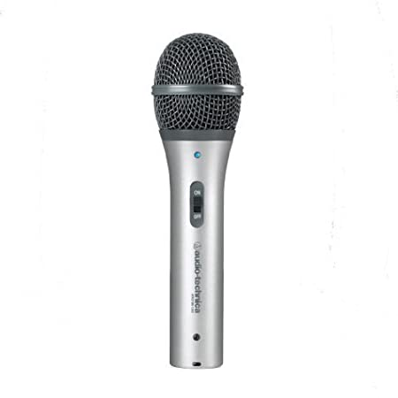 front facing audio-technica atr2100-usb dynamic microphone