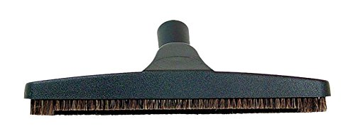 ProTeam 12-inch Natural Fiber Hard Surface Floor Tool, Vacuum Floor Brush for Use on Surfaces Without a High-Gloss Finish