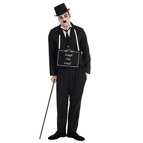 Charlie Chaplin Costumes (fun shack Mens Charlie Chaplin,)