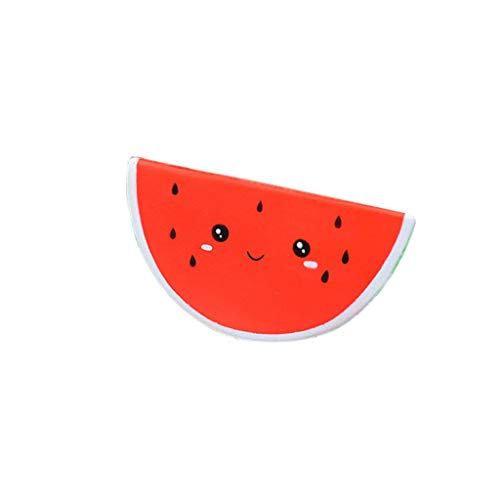 Happeey Children's Novelty Toy, Cartoon Fruit Smile Watermelon Slowly Rise Squeeze Toy Squeeze Aromatherapy Body Element Wrist Party Gift Birthday Gift to Children