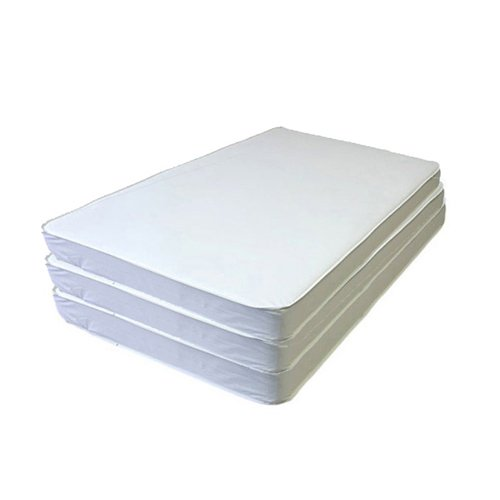 Image of bkb Daycare 6 Piece Cradle Mattresses, 6' x 32' x 2' Baby