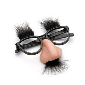 [Estore Classic Disguise Toy Fuzzy Nose and Glasses Cosplay Party Costumes] (Shrek Dance Costume)