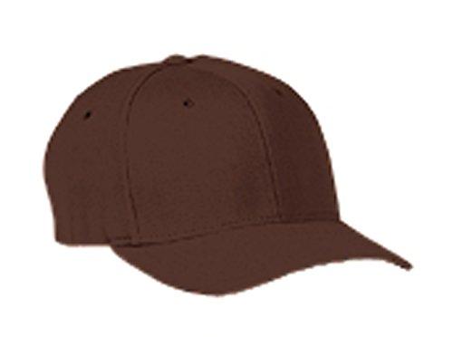 Flexfit Wooly Blend 6-Panel Cap (6477)- BROWN, (Wooly 6 Panel Cap)
