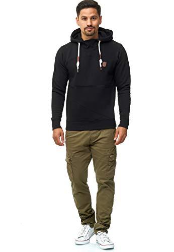Indicode Homme Broadwick Pantalon Cargo en Coton À 6 Poches | Longues Regular Fit Cargo Pantalon en Coton Loisirs…