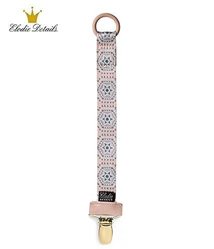 Elodie Details 1 x Clip Chupete/Beige Decor: Amazon.es: Bebé