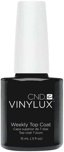 CND Vinylux Weekly Top Coat Nail Polish, 0.5 oz