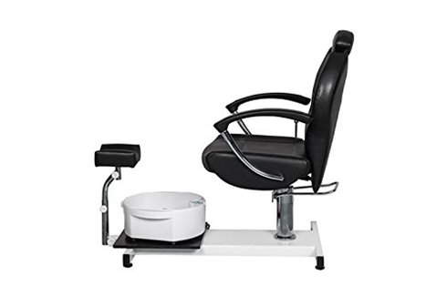 FlagBeauty Pedicure Station Hydraulic Chair Massage Foot Spa Beauty Salon Equipment (black) by FlagBeauty