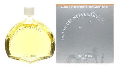 Eau Des Merveilles By Hermes For Women. Pure Parfum 0.25 Oz Refill.