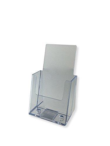 Marketing Holders 4'' Tri-Fold Brochure Holder (pack of 24)