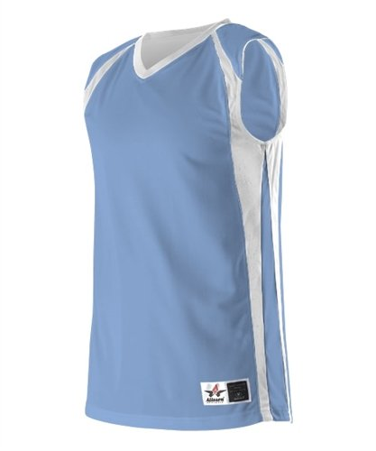 dbc5ebfe93d Alleson Womens Reversible Basketball Jersey - Columbia Blue - 2X-Large