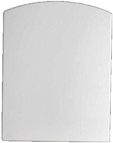 ZYL-YL ミュート抗菌尿素 - ホルムアルデヒド樹脂1秒分解トイレカバー、ホワイト-45-49 * 37センチメートル付き便座広場トイレのふた