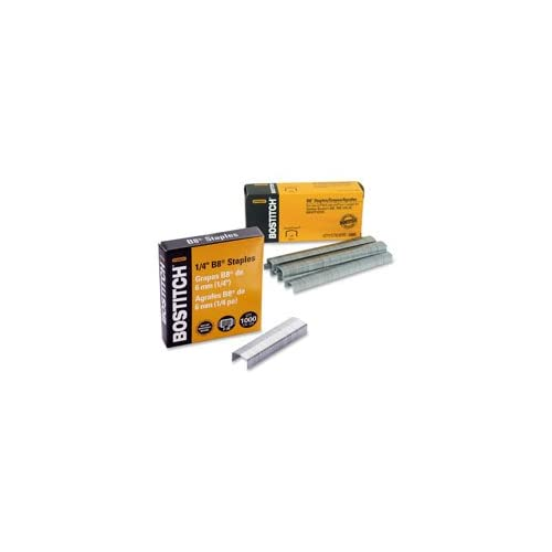"Discount B8 Staples,Chisel Point,Use In B8 Line,1/2""W,1/4""L,10000/BX, Sold as 1 Box, 10000 Each per Box"