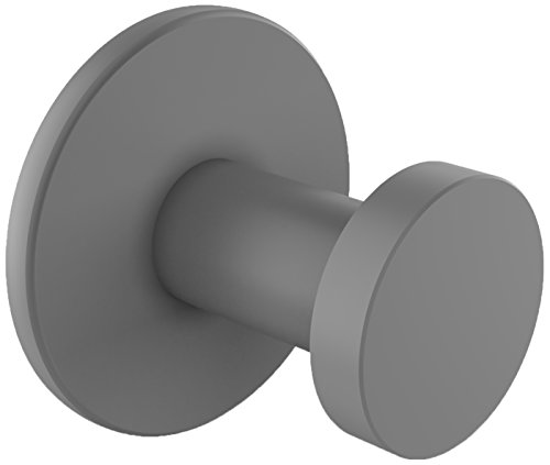 Allied Brass FR-20-GYM Fresno Collection Robe Hook Matte Gray